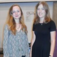 Rachel Gynn and Emilie Cunning