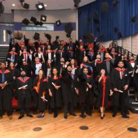 Uxbridge College Graduates Celebrate