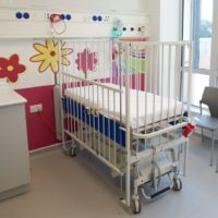 One of the New A&E Rooms