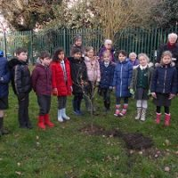 Mrs J Fremantle and the Gardening Club